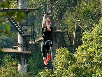 Angkor Zipline